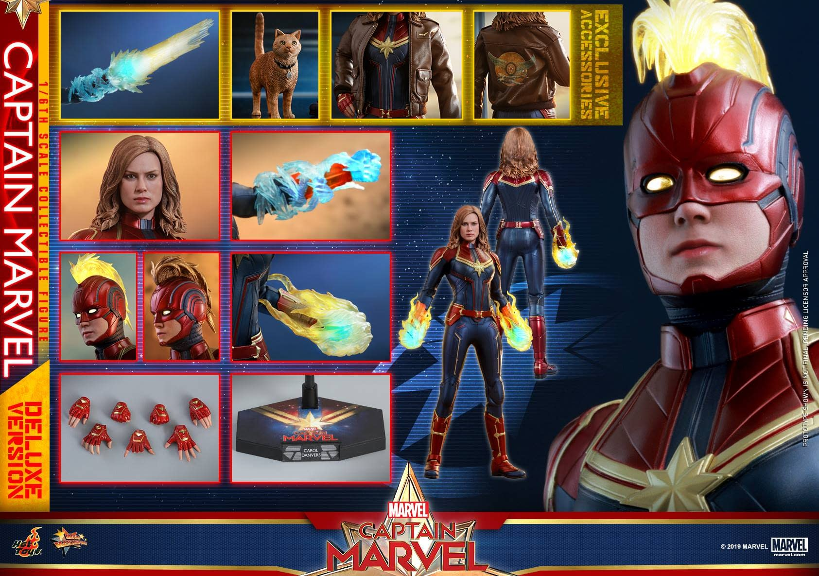 Hot Toys Captain Marvel 30