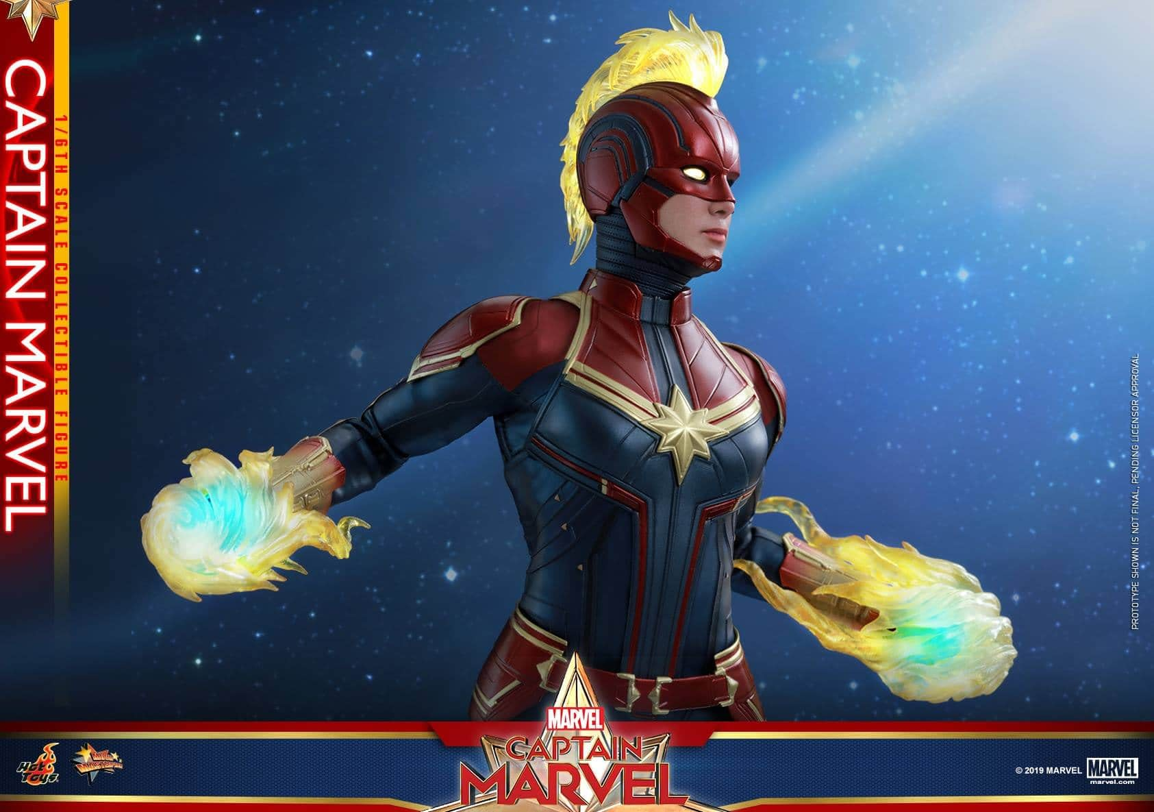 Hot Toys Captain Marvel 9