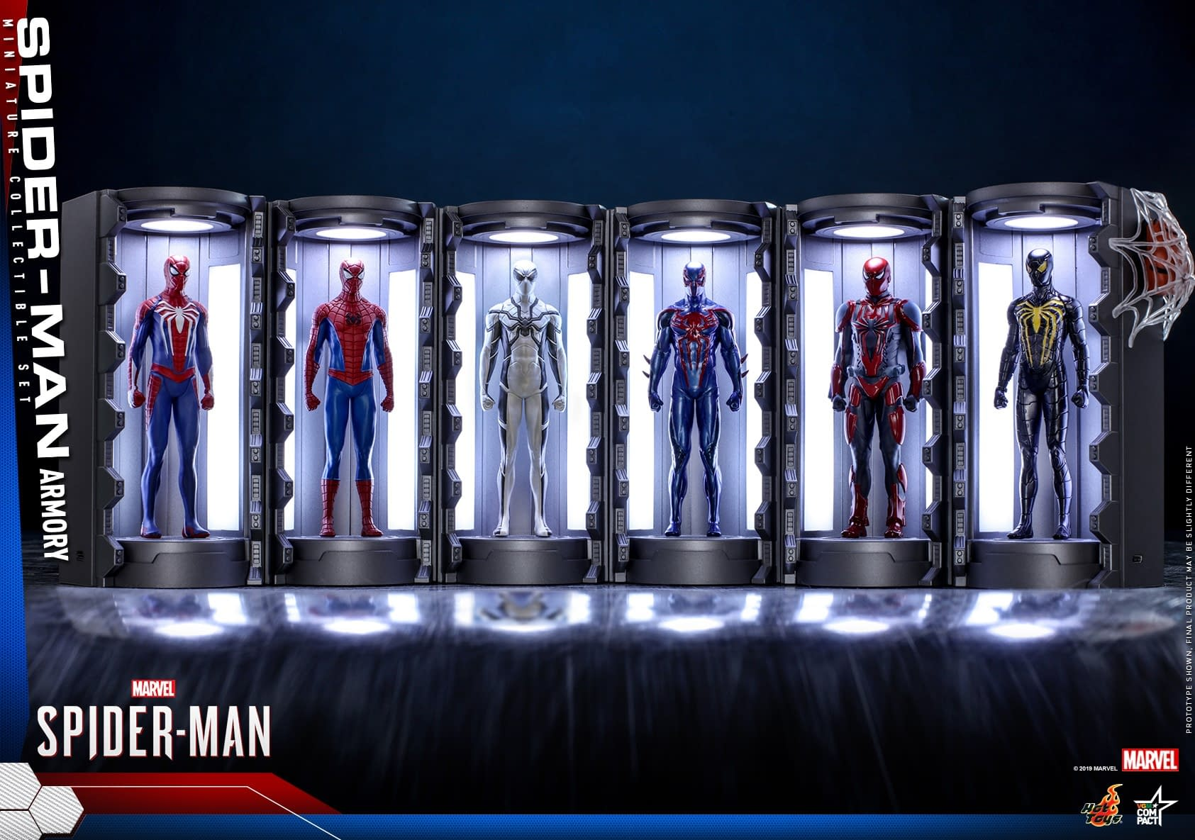 Spider-Man Gets His Own Armory Display with Hot Toys
