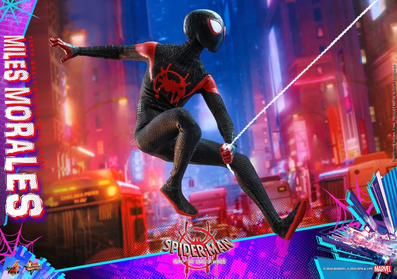 Spider-Man Miles Morales Hits the Streets with New Hot Toys Figure