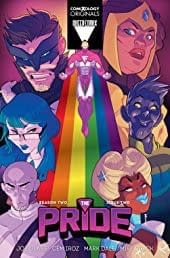 Joe Glass Relaunches The Pride for ComiXology Originals, and Pride Month