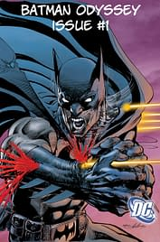 Neal Adams Inked By Michael Golden – And Other Colour Batman Odyssey Pages