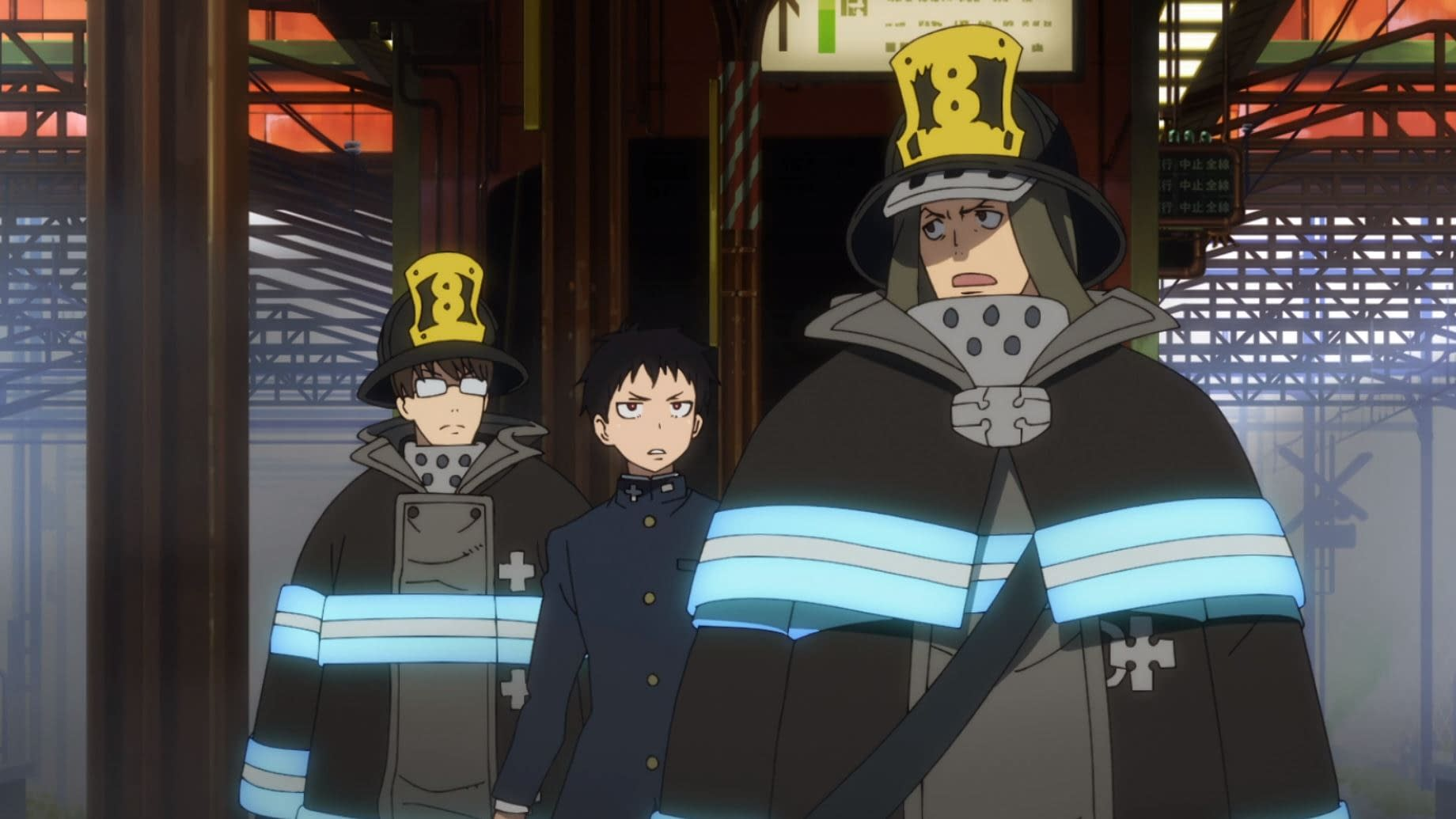 """Fire Force"" from Crunchyroll"