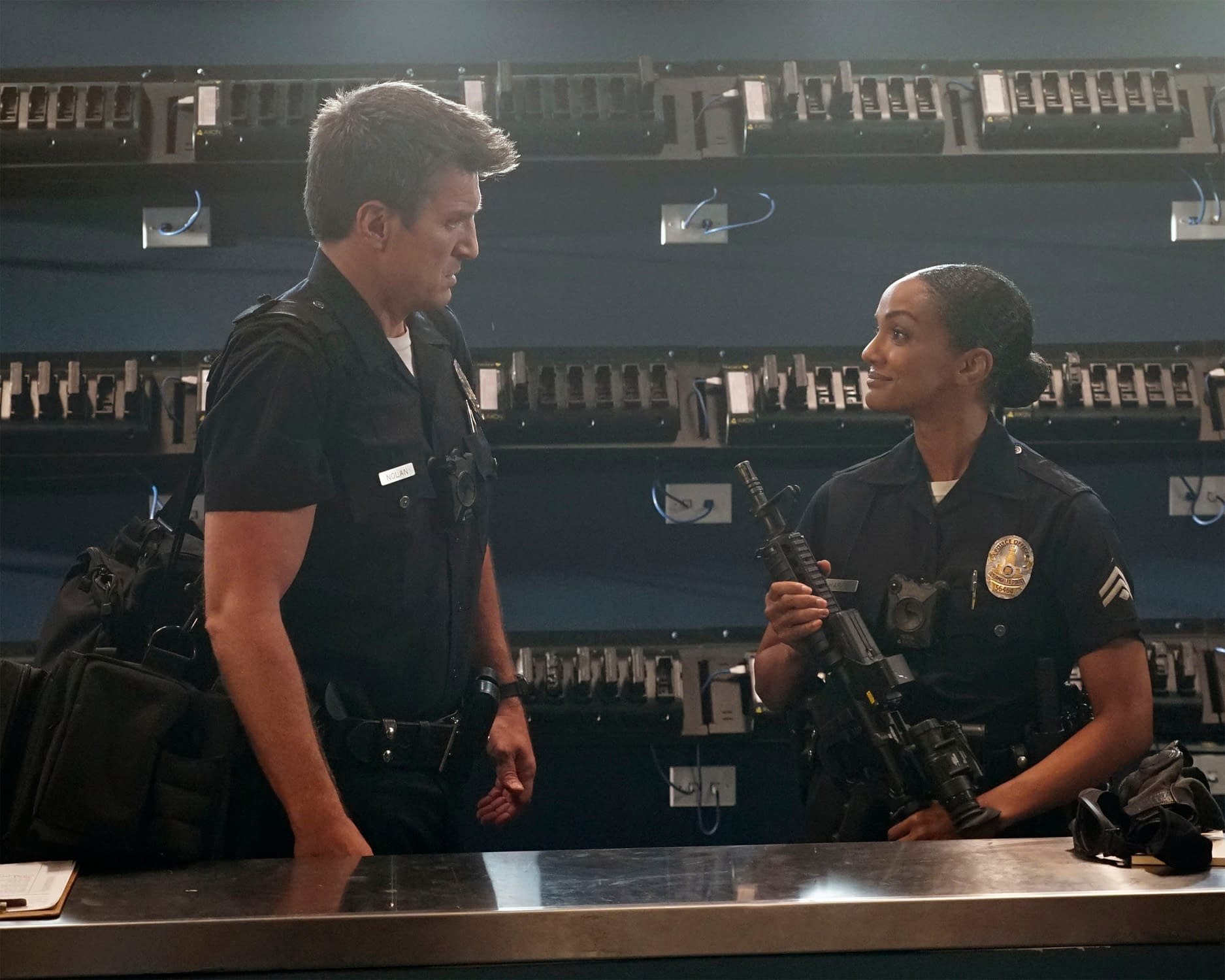 "THE ROOKIE - ""Warriors and Guardians"" - ABC/Kelsey McNeal"