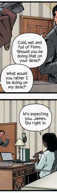 A More Female-Positive Take On Miss Moneypenny In The New Warren Ellis James Bond Comic Out Today