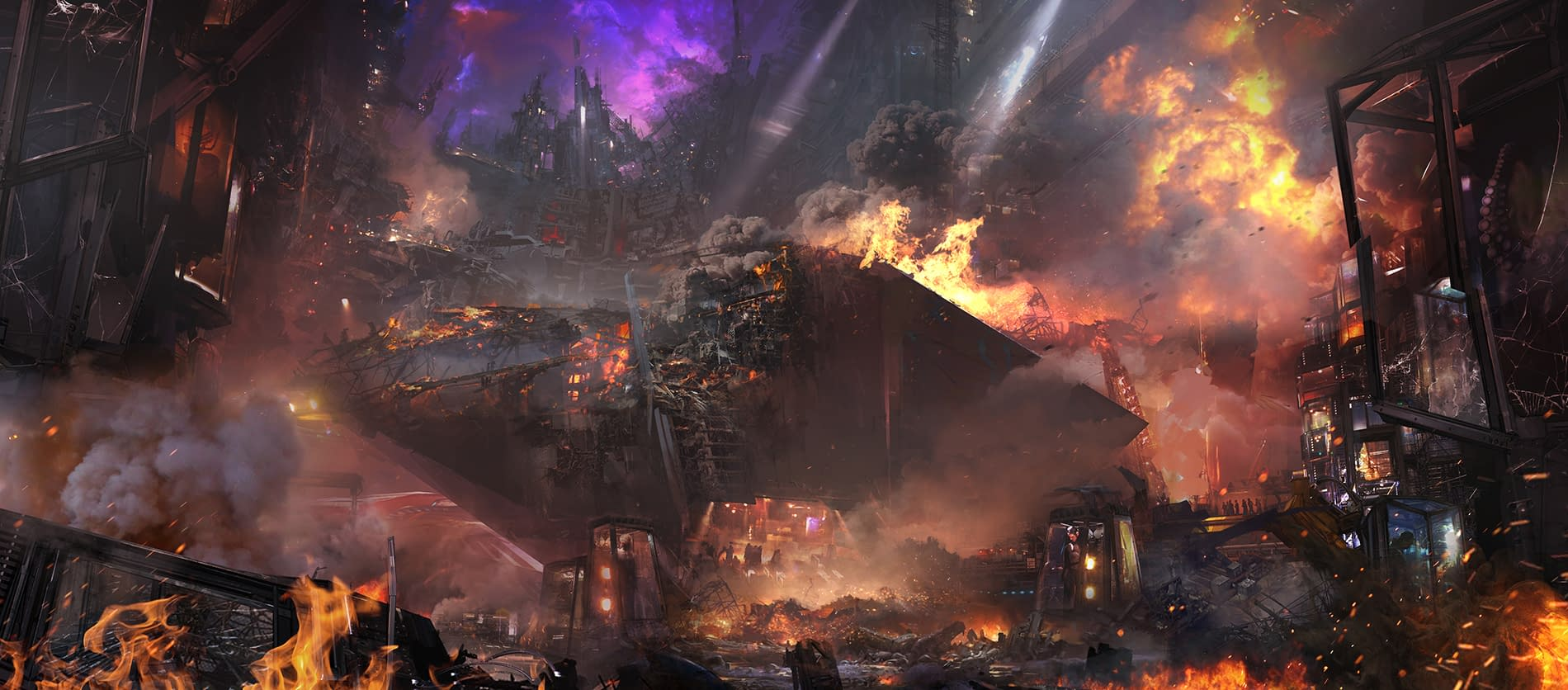 25 Pieces of Concept Art from Avengers: Infinity War