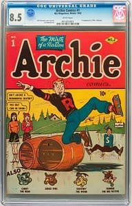 Archie #1 Skates To Record $167,300, Miller, Byrne, Kirby Art Goes For Five Figures