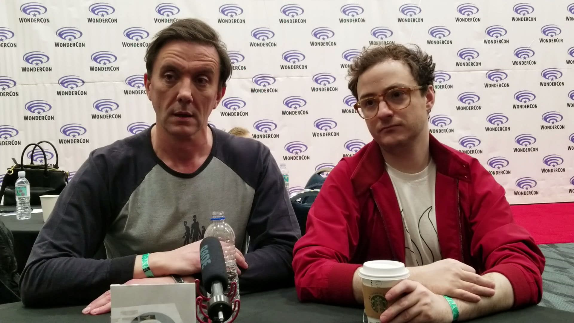 'The Tick': Peter Serafinowicz, Griffin Newman Talk Tick/Arthur Relationship at WonderCon