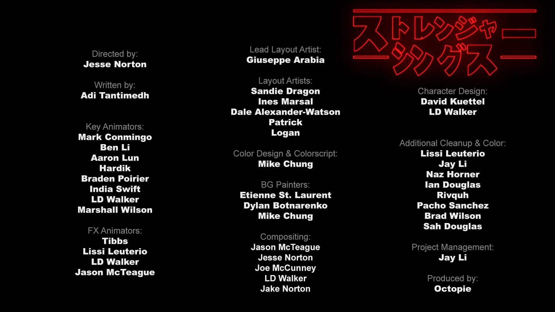 """Stranger Things"": Fates' Jesse Norton on Making That 80's Anime Fan Trailer [VIDEO]"
