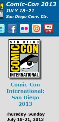 San Diego Comic Con 2013 Pre-Registration Begins This Saturday Morning