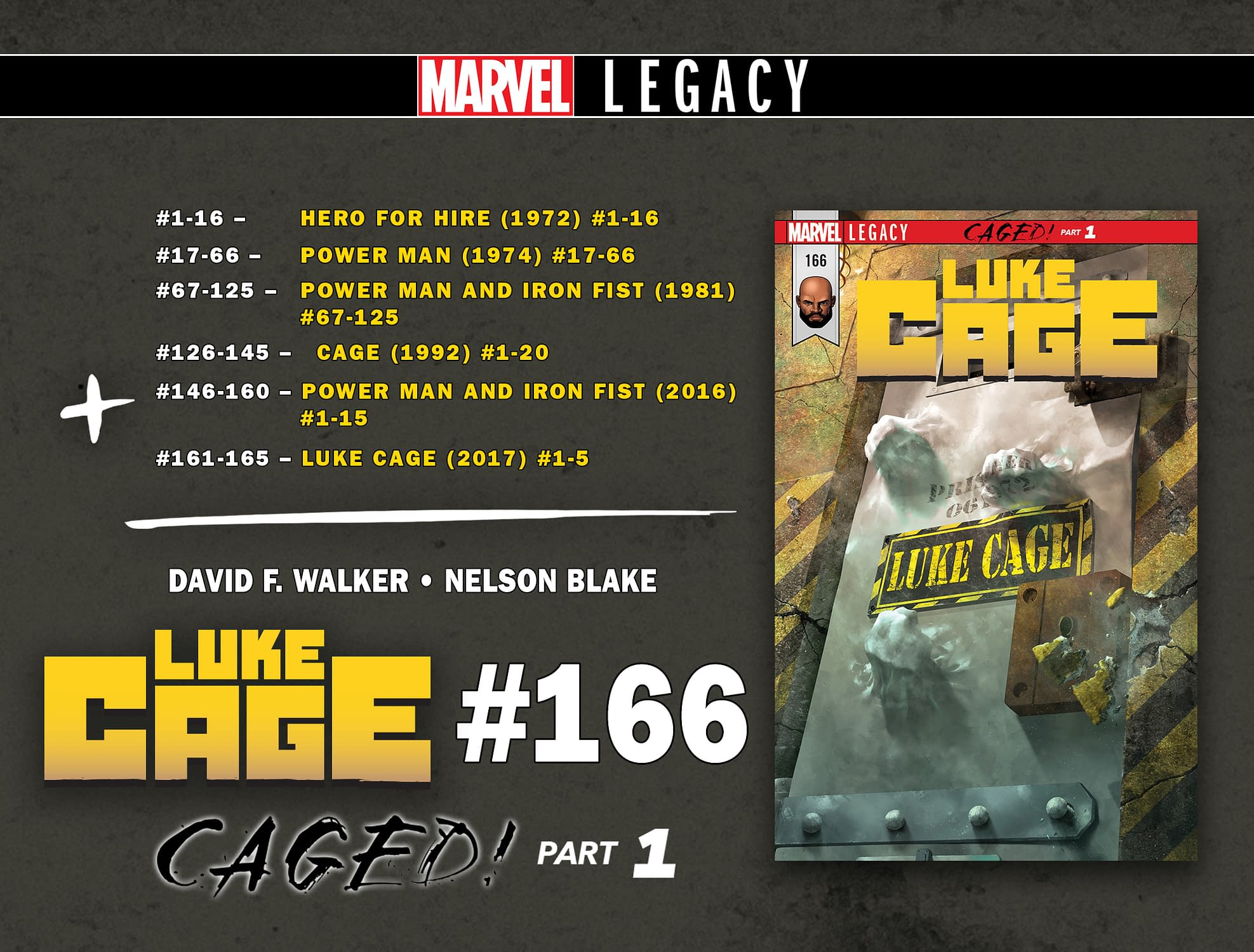 Iron Fist Legacy Numbering Continues Marvel Legacy Of Wrong Numbering