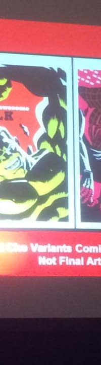 Block Print Variants Vader Down Totally Awesome Hulk and Gwenpool Art From Marvels Baltimore Presentation