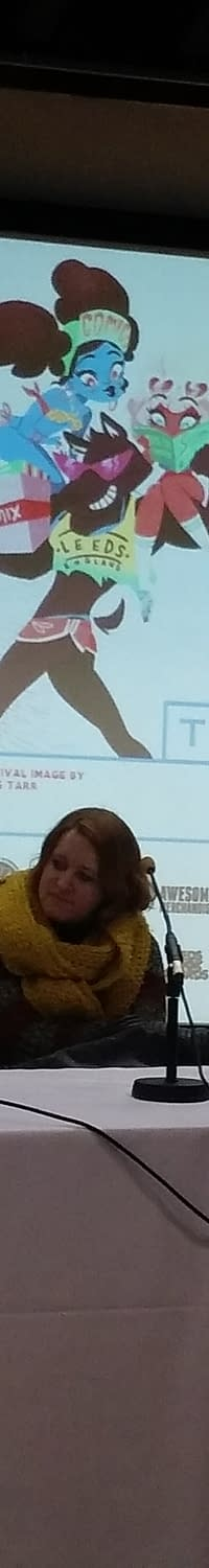Kate Leth Cant Say Whether Patsy Walker Hellcat Is Queer. Yet. The Queer Comics Today Panel At Thought Bubble #TBF15