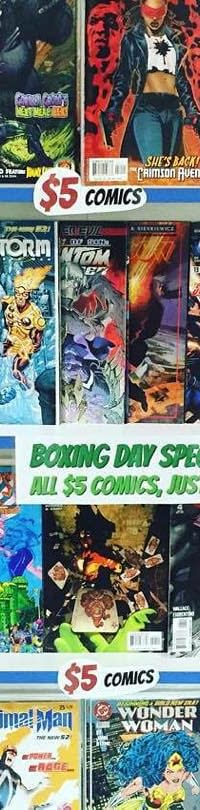 All The Boxing Day Deals On Comics And Graphic Novels Print And Digital 2015
