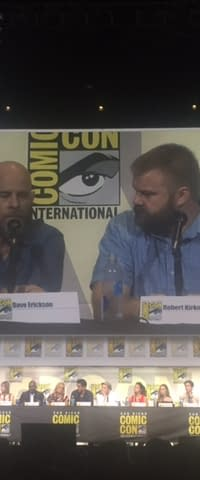 In Fear Of The Walking Dead At San Diego Comic-Con
