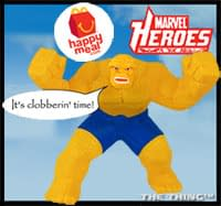 McDonalds Condemned For Marvel Happy Meals