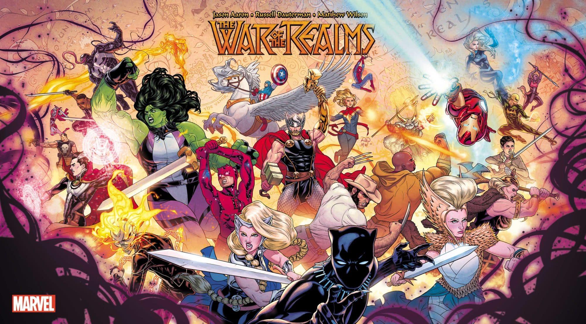 War of the Realms, Bigger Than Secret Wars, Rocks the Marvel Universe in April