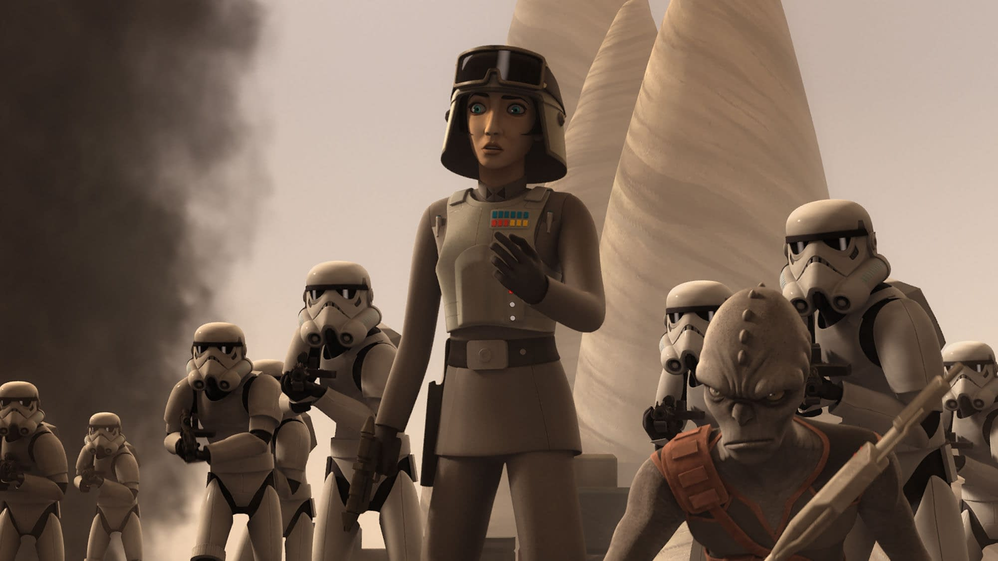 Star Wars: Rebels Season 4 – Trailer and 6 New Images from the Series Finale