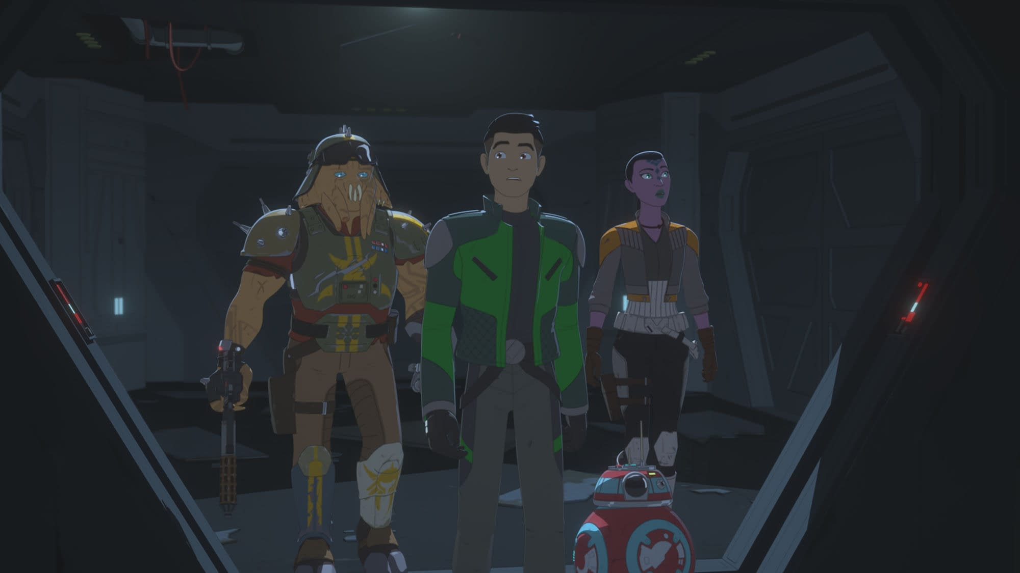 "STAR WARS RESISTANCE - ""A Quick Salvage Run"" - Disney Channel"