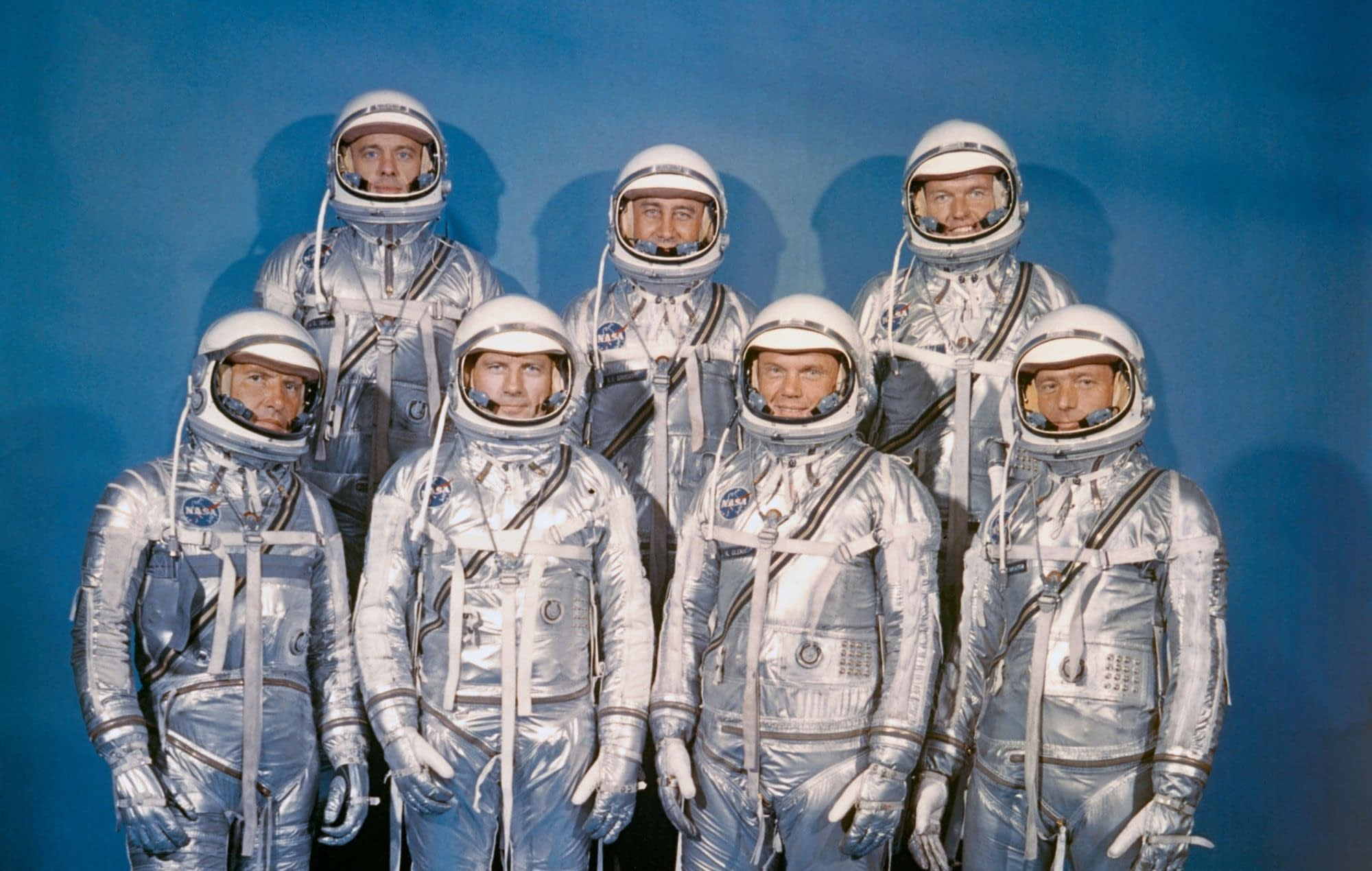 """The Right Stuff"" Re-Launch Hires its Mercury Seven Crew"