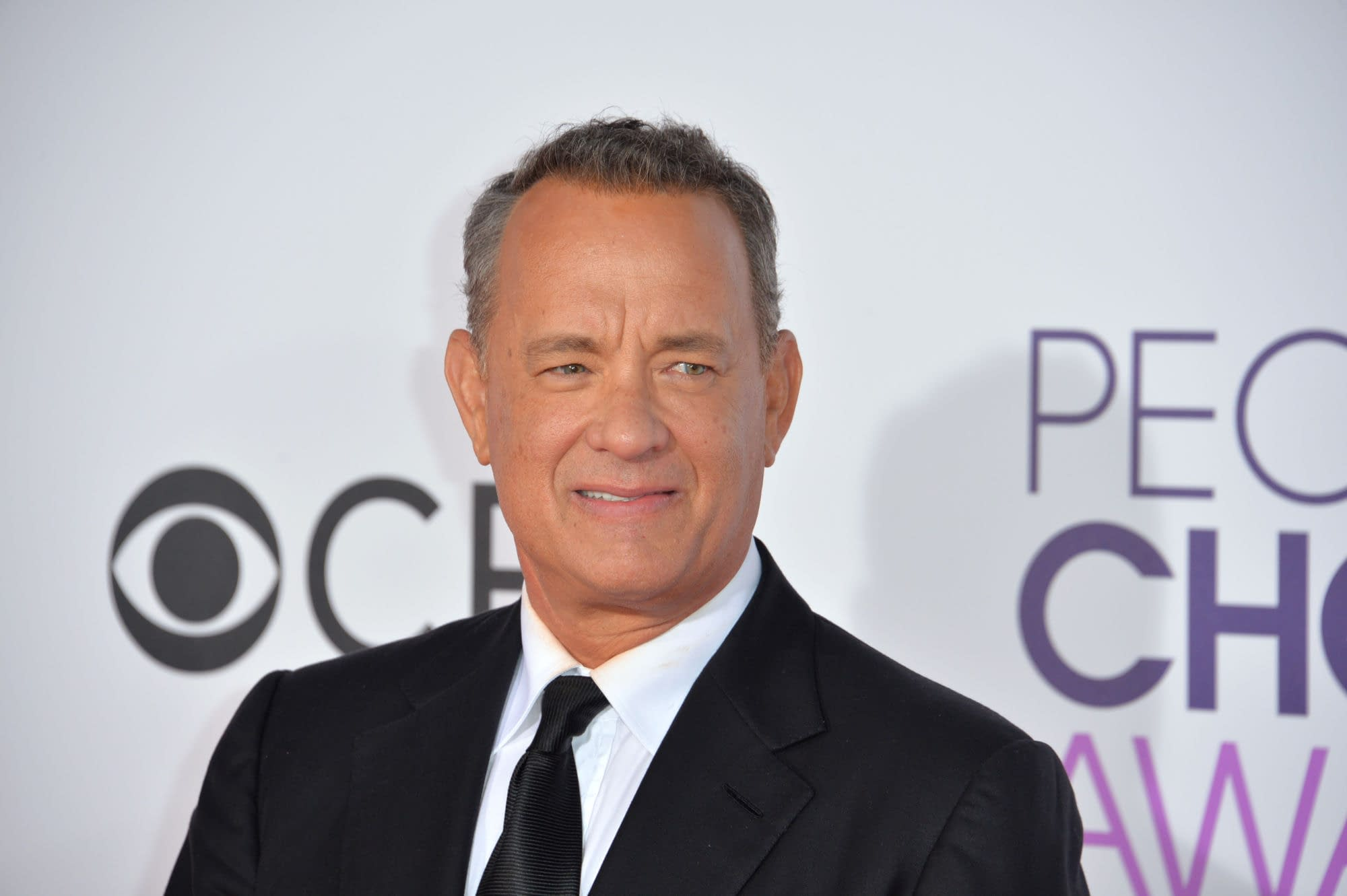 Tom Hanks at the 2017 People's Choice Awards at The Microsoft Theatre, L.A. Live, Los Angeles. Editorial credit: Featureflash Photo Agency / Shutterstock.com