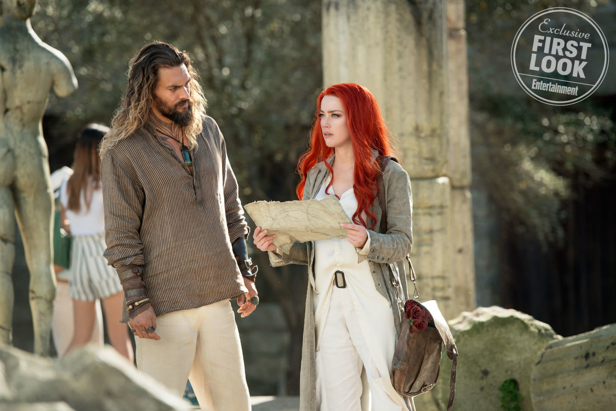 'Aquaman': Amber Heard Talks Mera's Powers, Not Being a Damsel in Distress