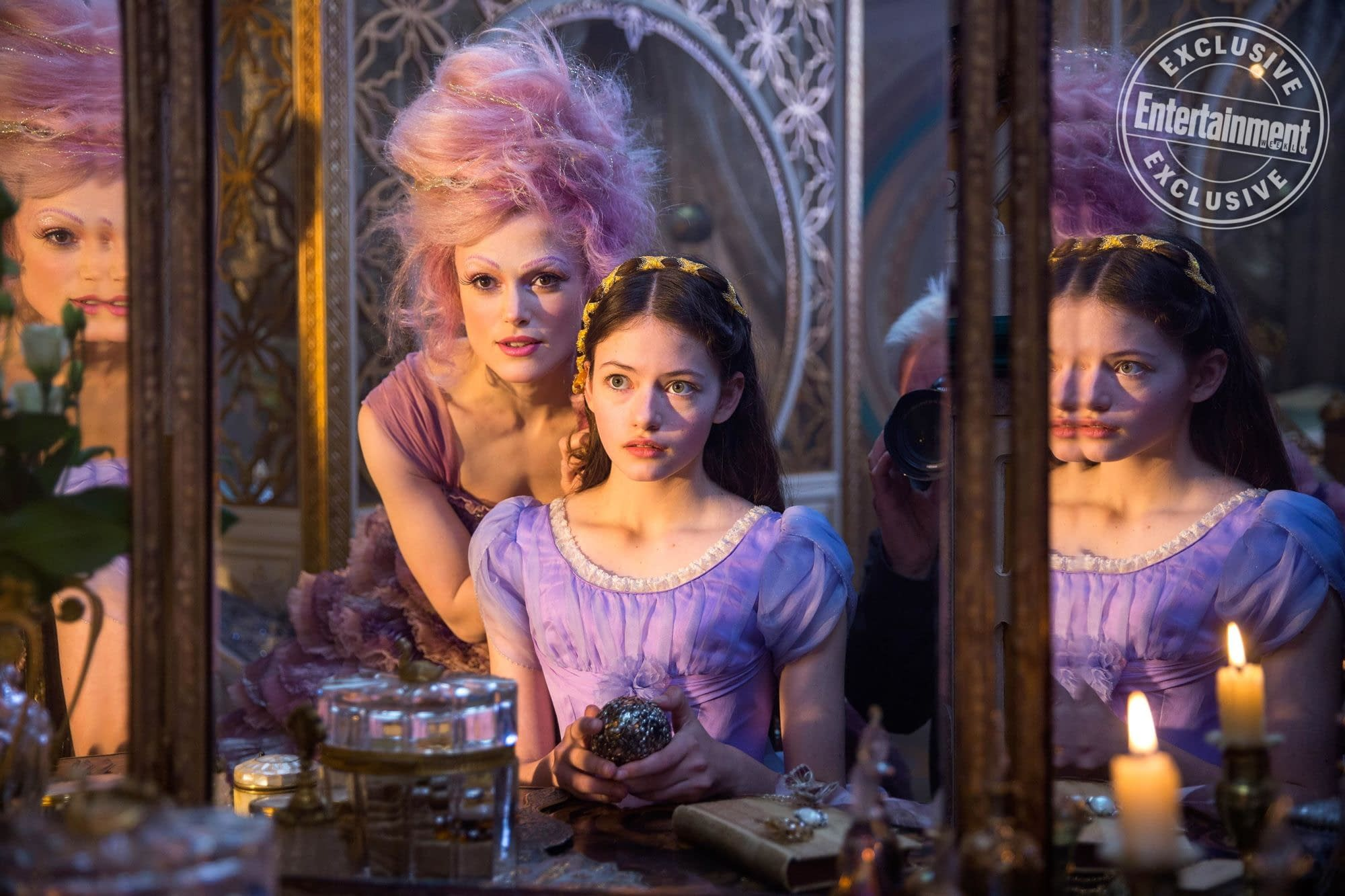 Clara and the Sugar Plum Fairy in New Image from The Nutcracker and the Four Realms
