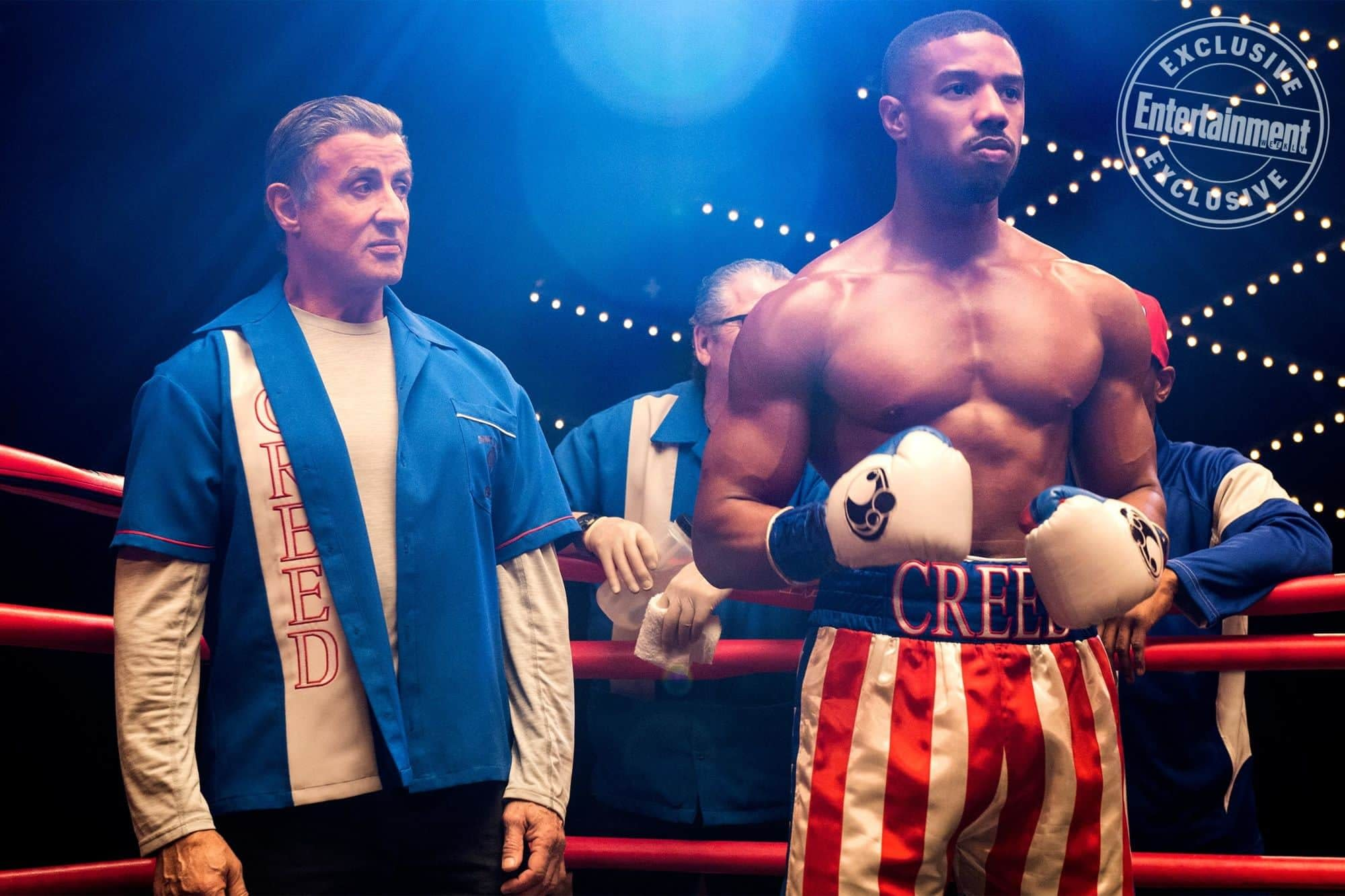 New Image from Creed II with Adonis Ready for a Fight