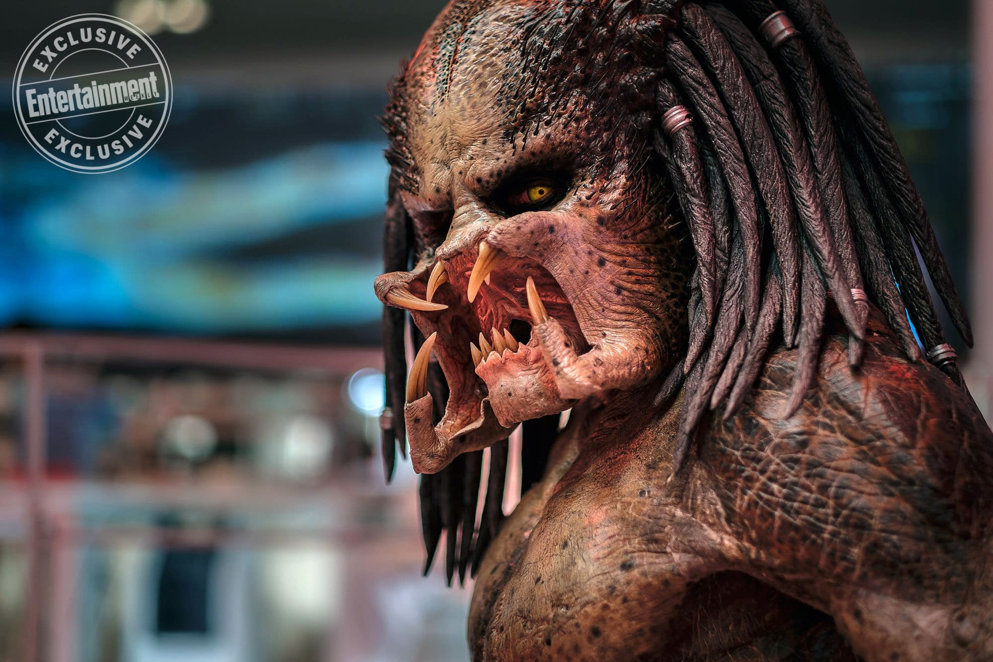 New Image from The Predator Gives Us a Closeup of the Monster