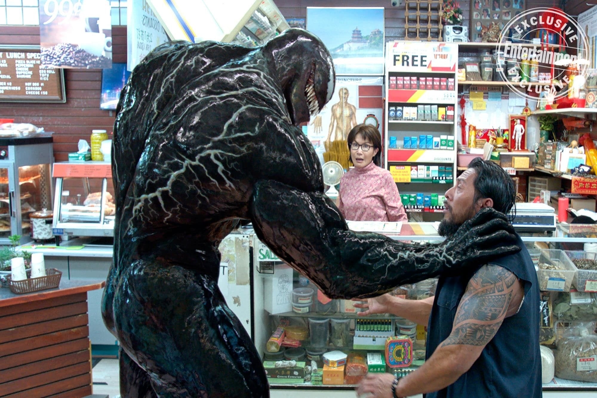 New Image from Venom Shows off the Details of the Monster
