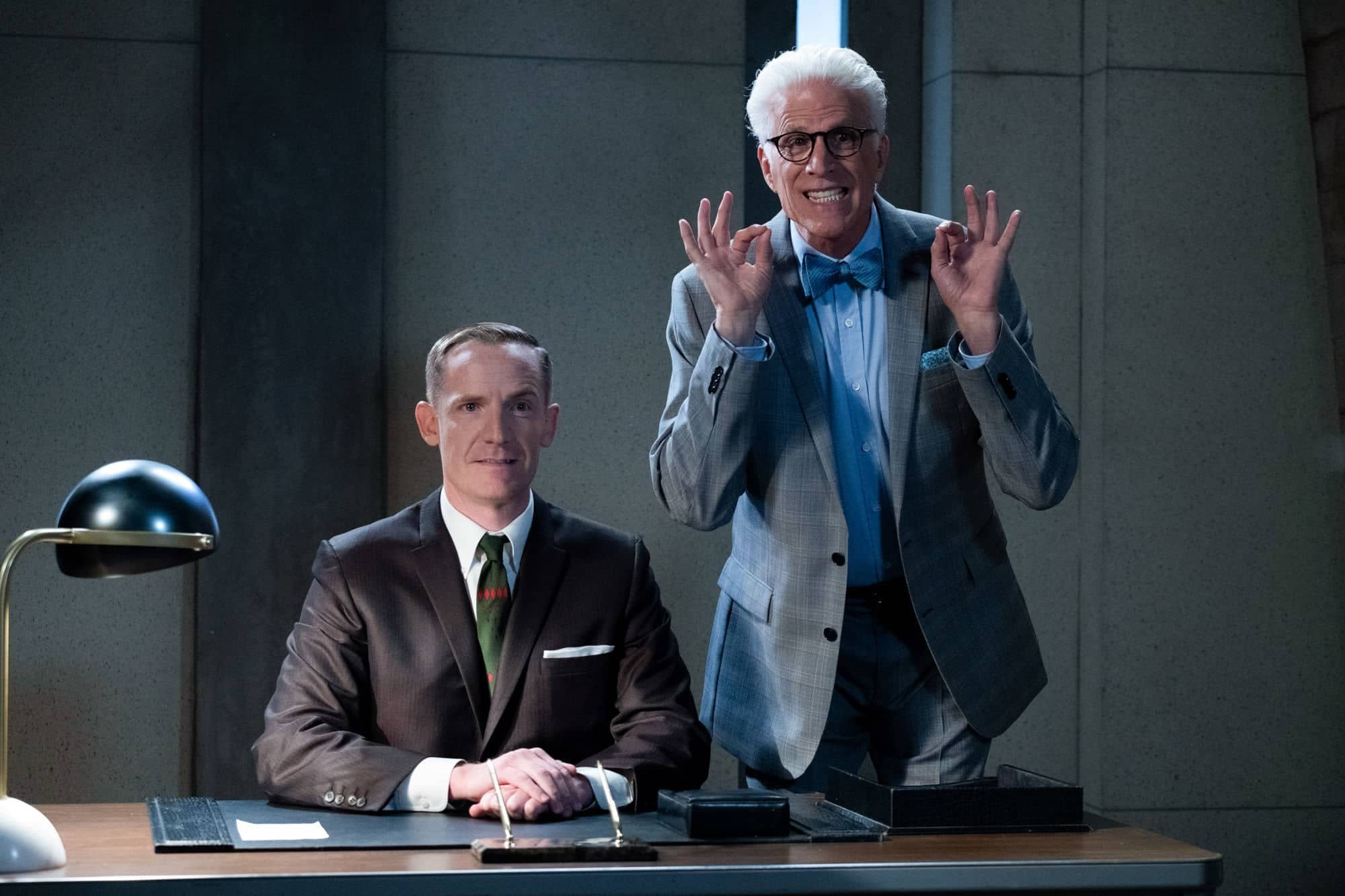"""""""The Good Place"""" Season 4: Shawn & The Bad Place Council Begin Their Selections [PREVIEW]"""