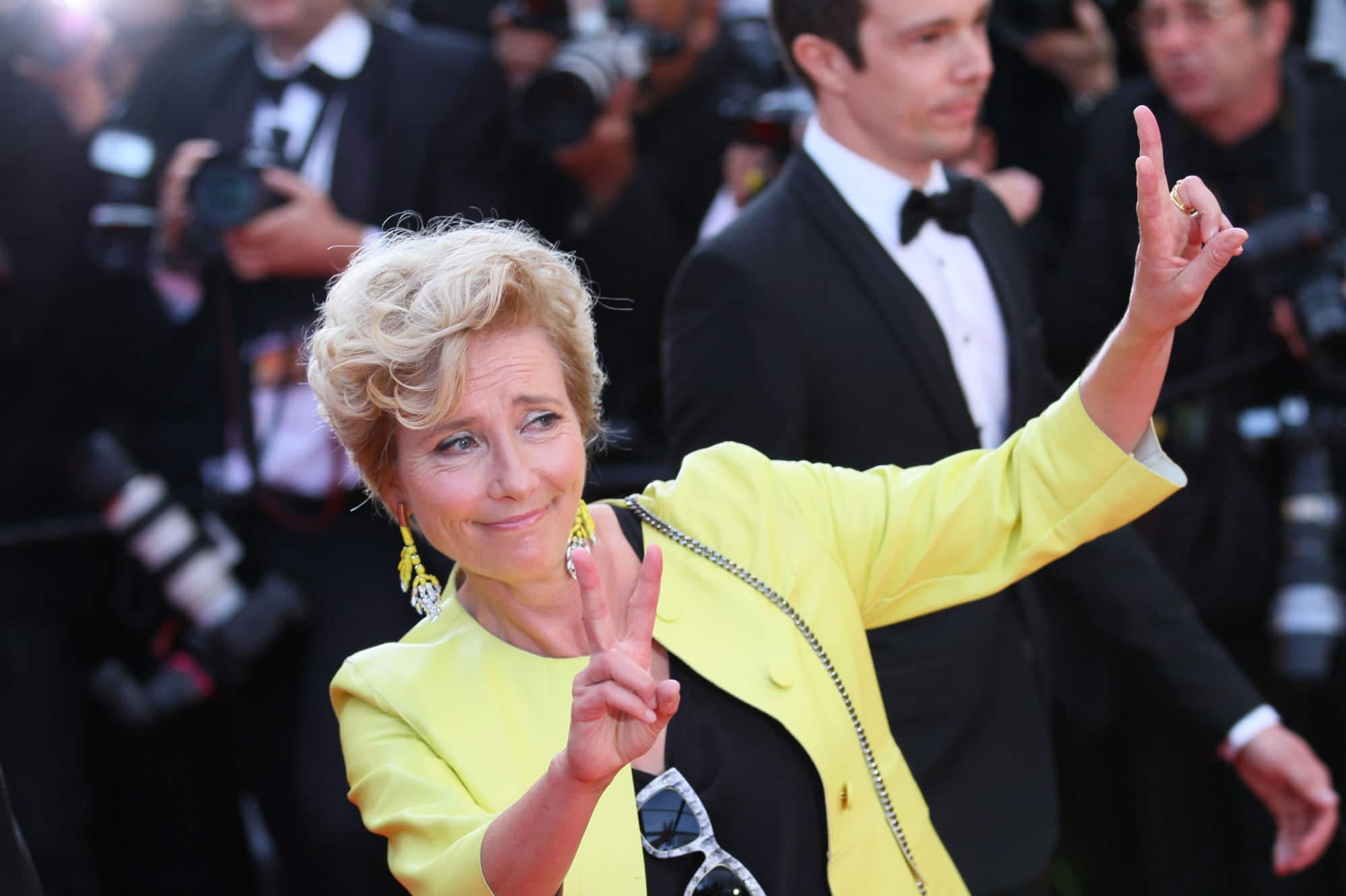 Emma Thompson Leaves Skydance's Luck Because of John Lasseter