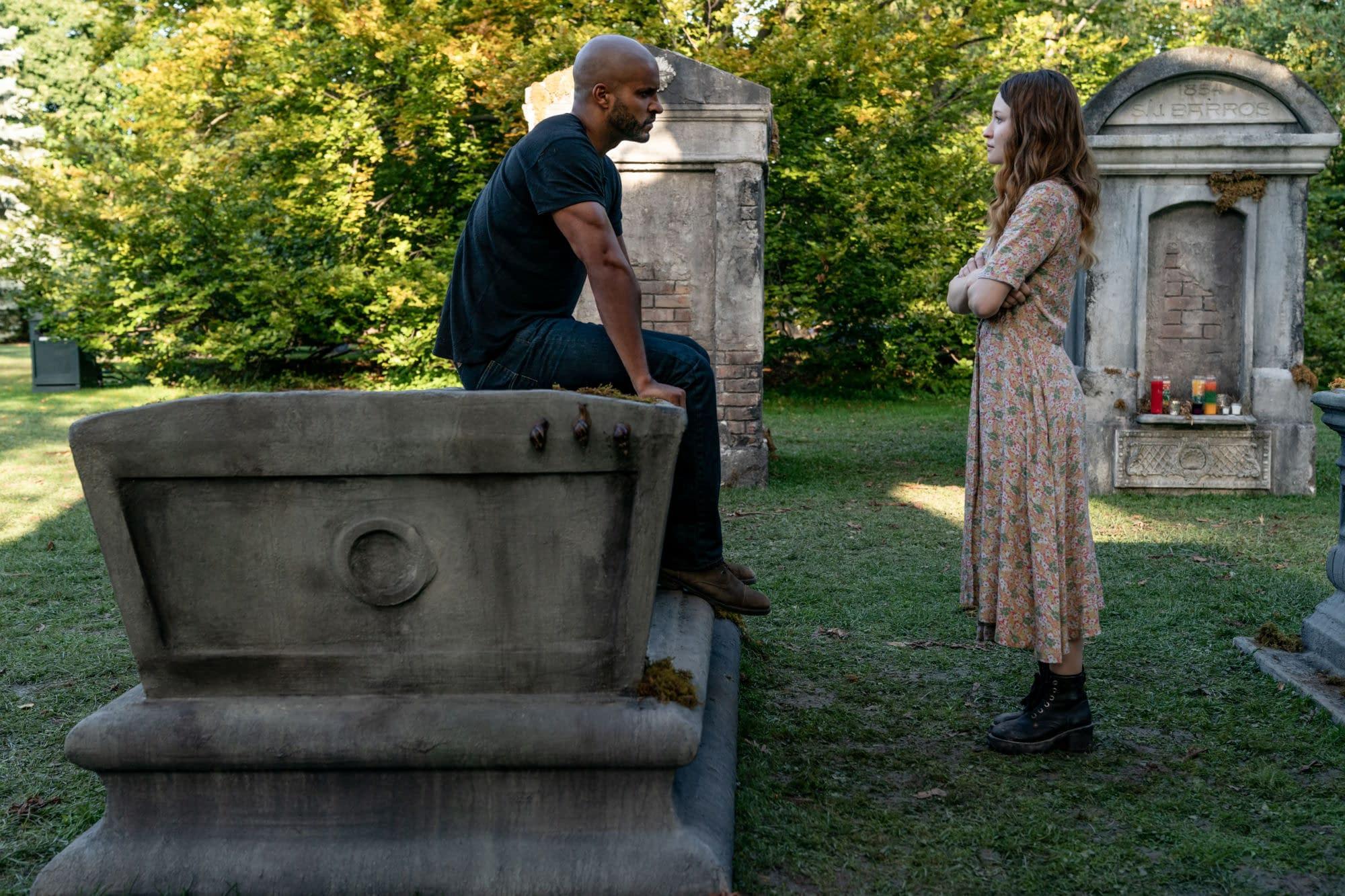 """American Gods"" Season 3: Bruce Langley's ""God Squad"" Family Portrait [IMAGE]"