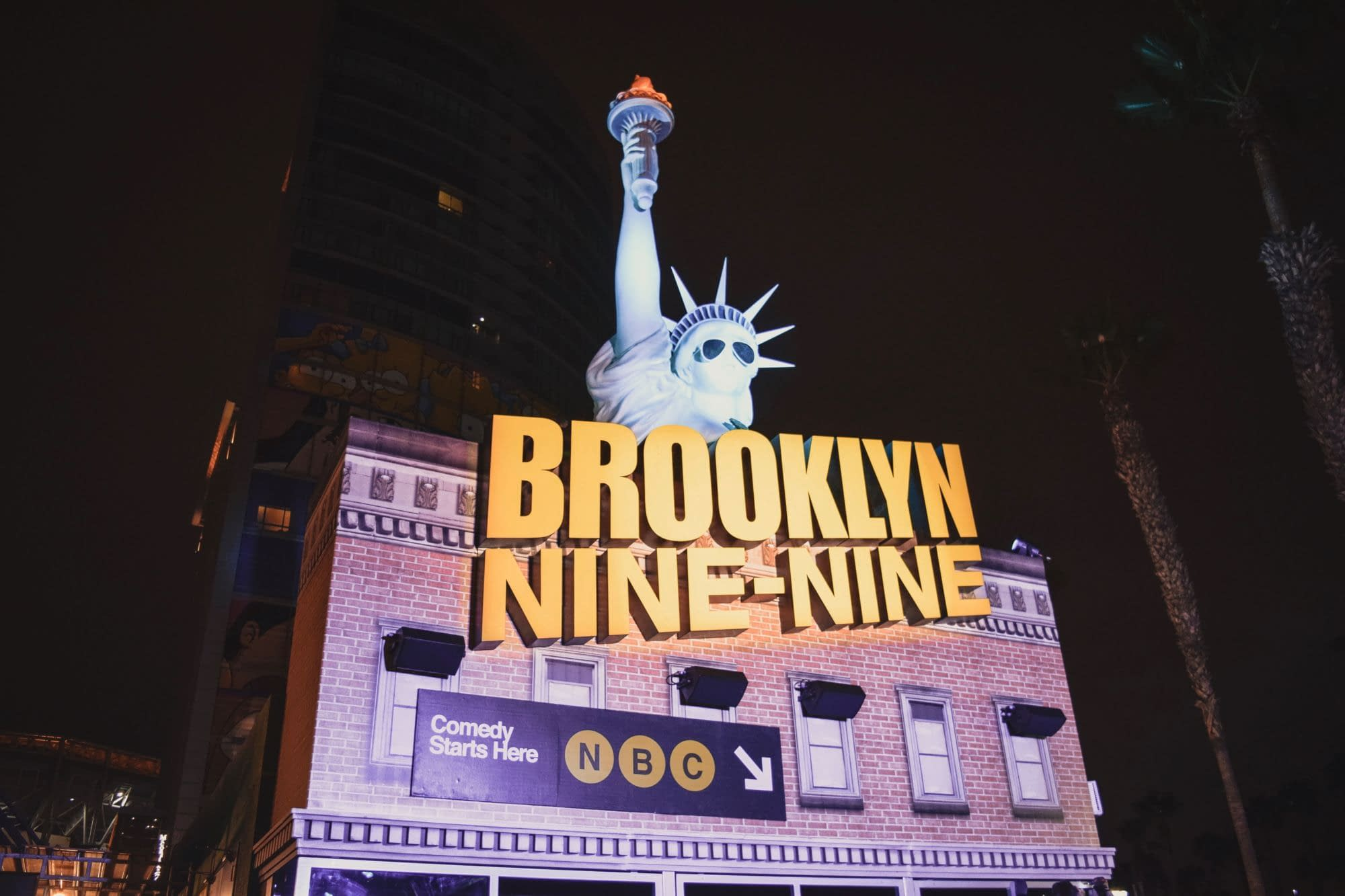 The Brooklyn Nine Nines Off-Site is a Fan's Paradise.