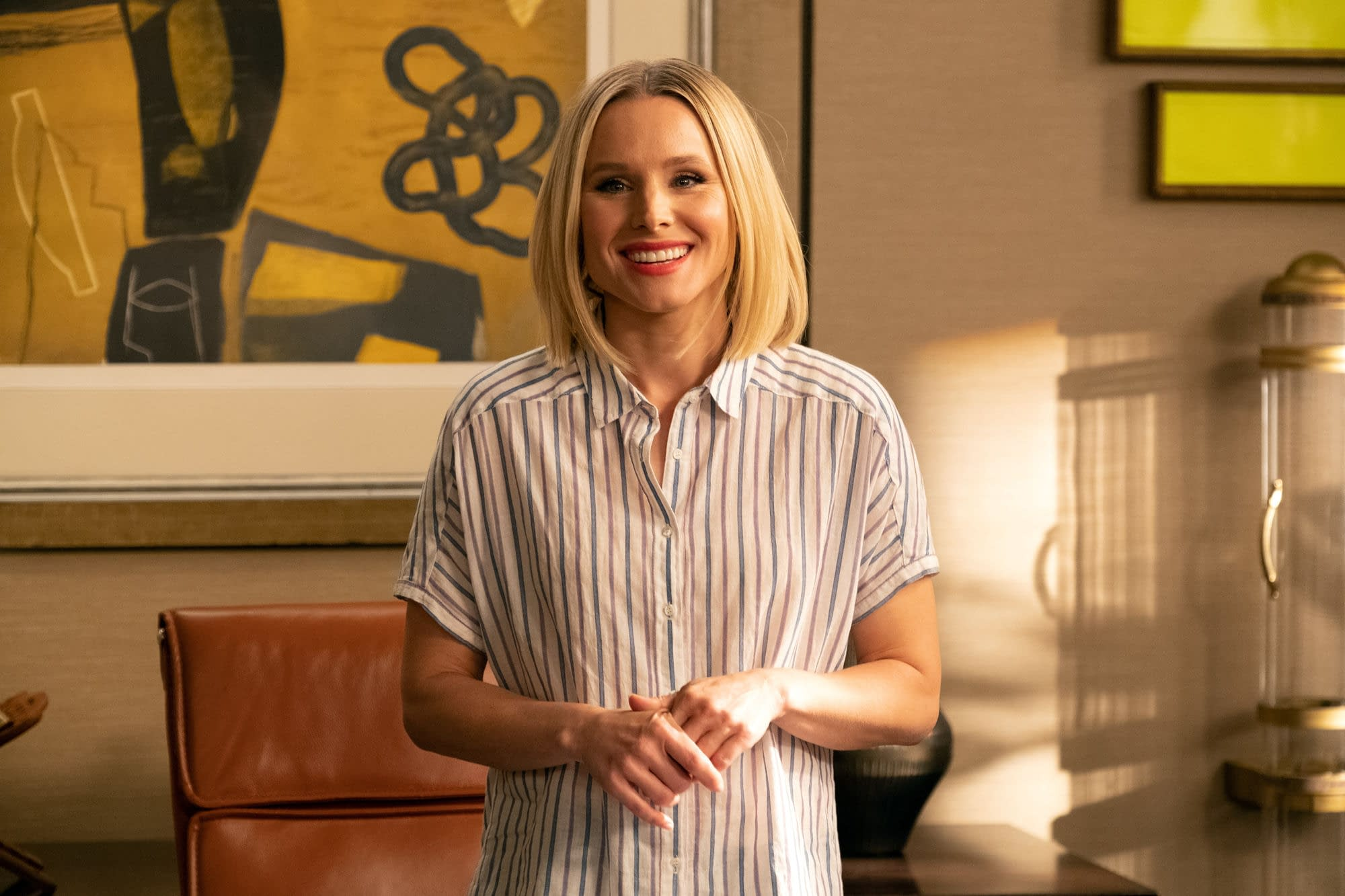 """The Good Place"" Season 4 ""A Girl From Arizona"":"