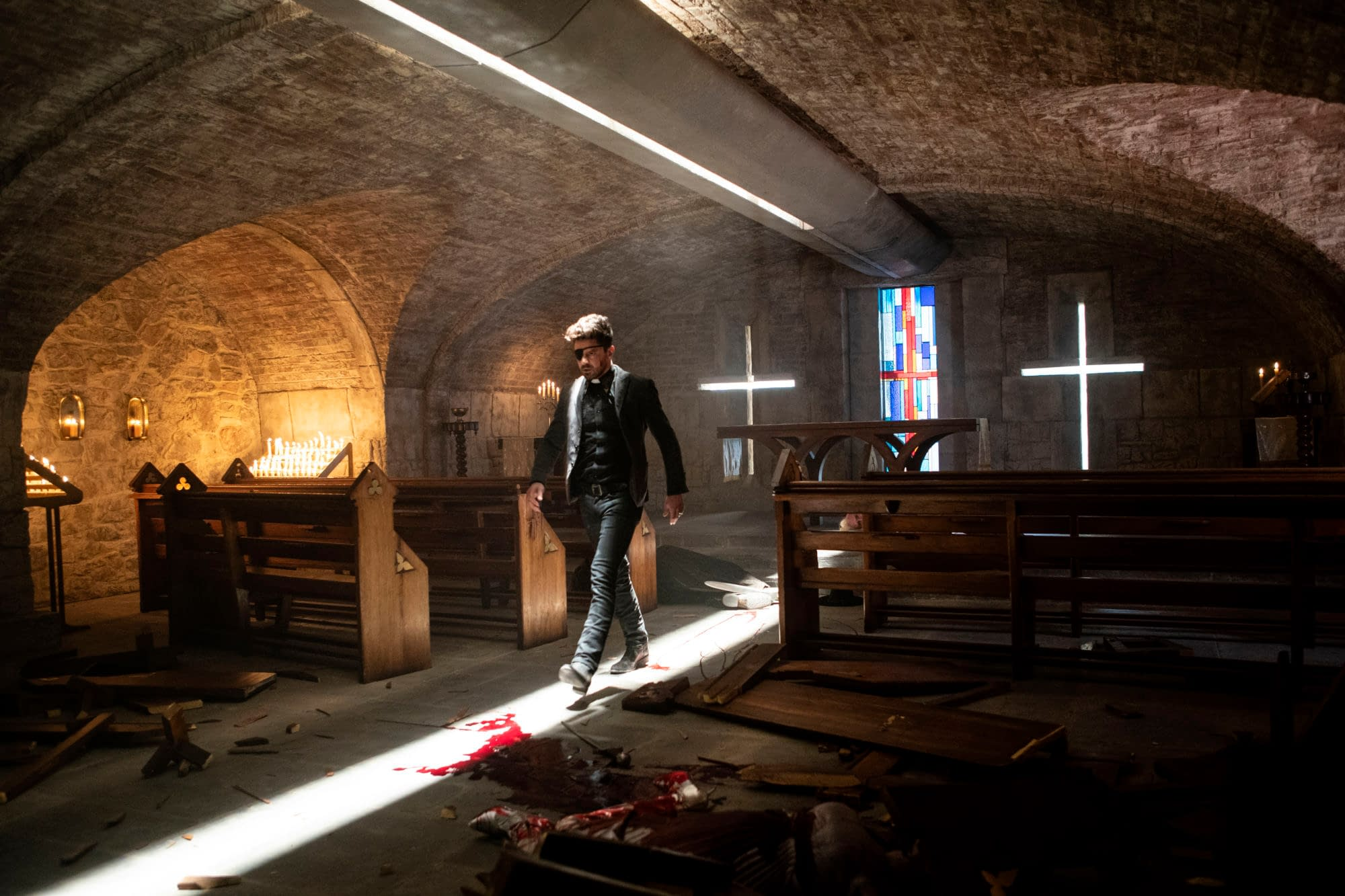 """""""Preacher"""" Series Finale """"End of the World"""": Tulip vs. Cassidy – Round 1 [PREVIEW]"""