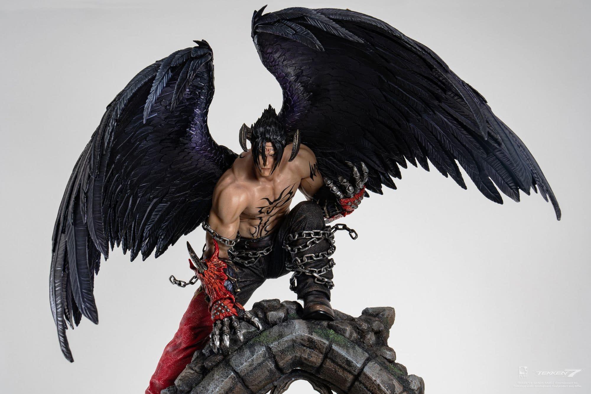 Tekken 7 Gets A Special Devil Jin Statue From Pure Arts