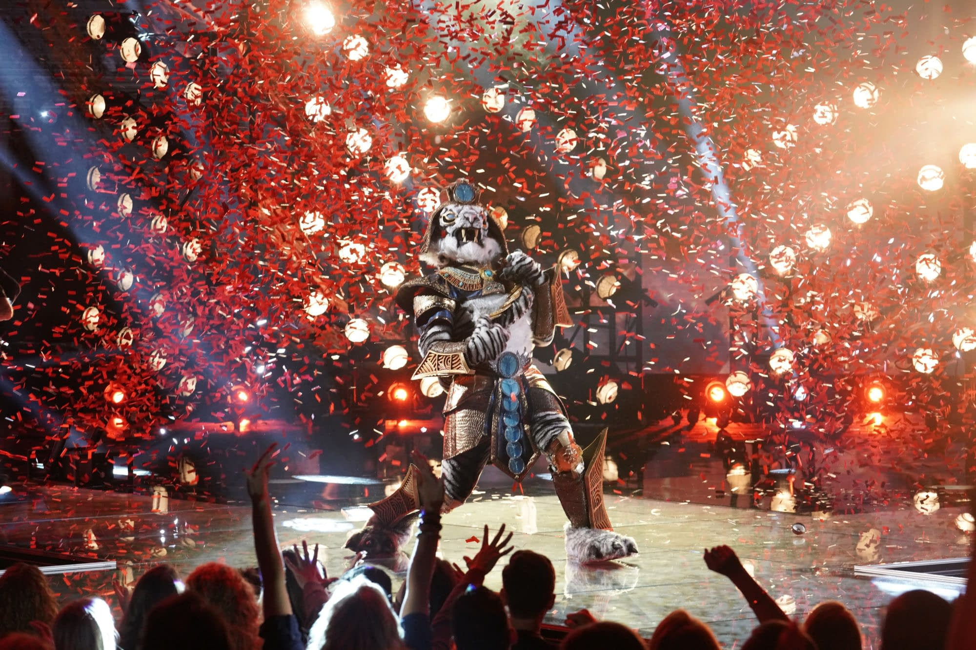 """""""The Masked Singer"""" Season 3 """"Masking for a Friend"""" Promises """"Icon"""" Reveal; Gabriel Iglesias, Will Arnett, T-Pain, Joel McHale to Guest Later This Season"""