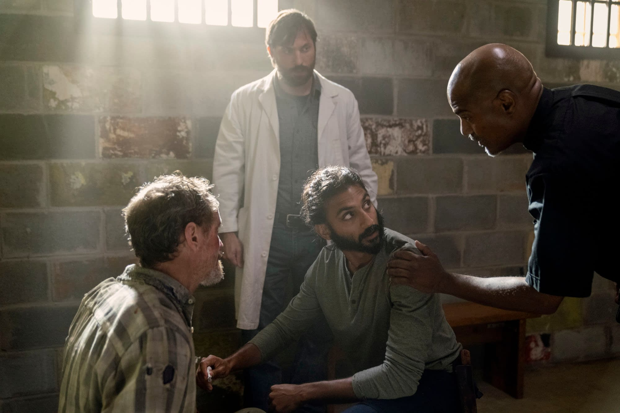 """""""The Walking Dead"""" Season 10 """"Open Your Eyes"""": As An Interrogation Begins, Could Our Siddiq Theory Prove Out? [PREVIEW]"""
