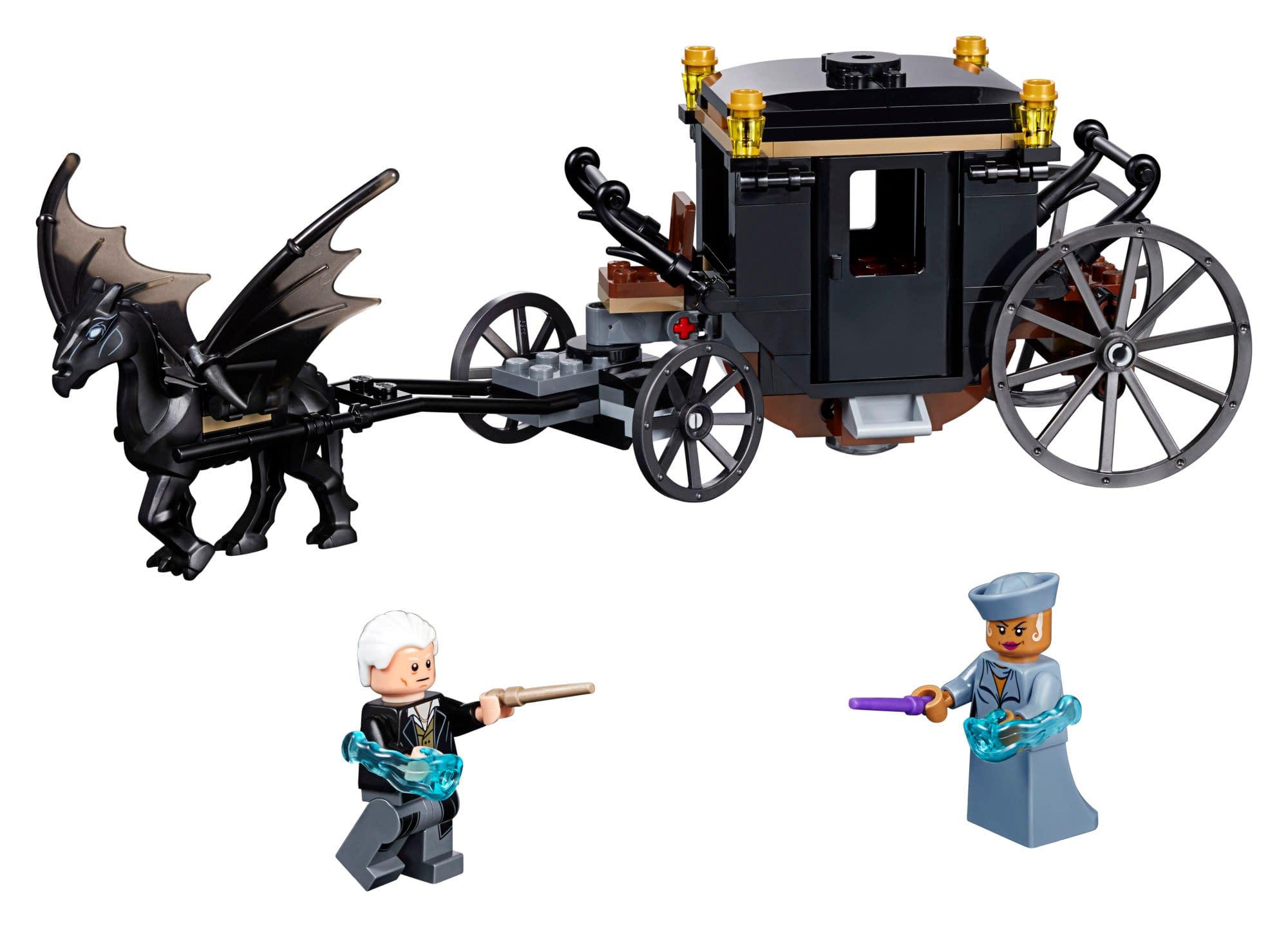 LEGO Fantastic Beasts Grindlewald's Escape Set