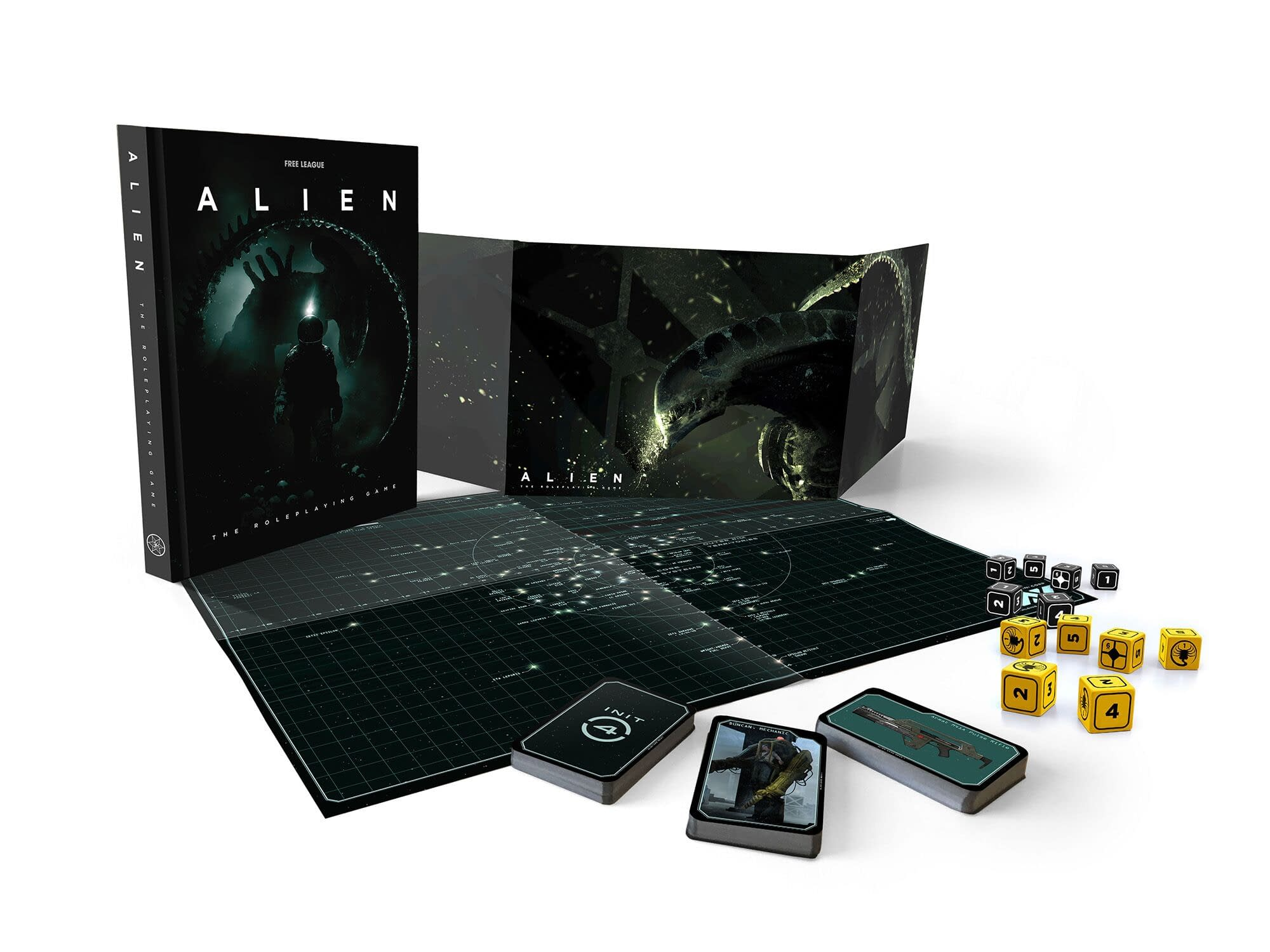 "Free League Gearing up for 'Alien' RPG Pre-Orders with Free ""Cinematic Starter"""