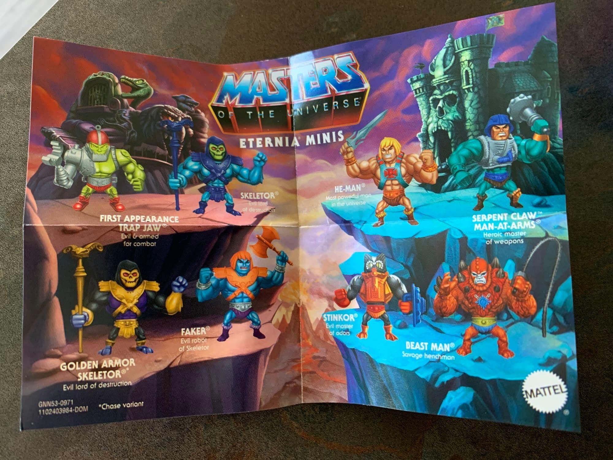 Maîtres de l/'univers Eternia minis Wave 2 Faker Masters of the Universe Mattel Scellé