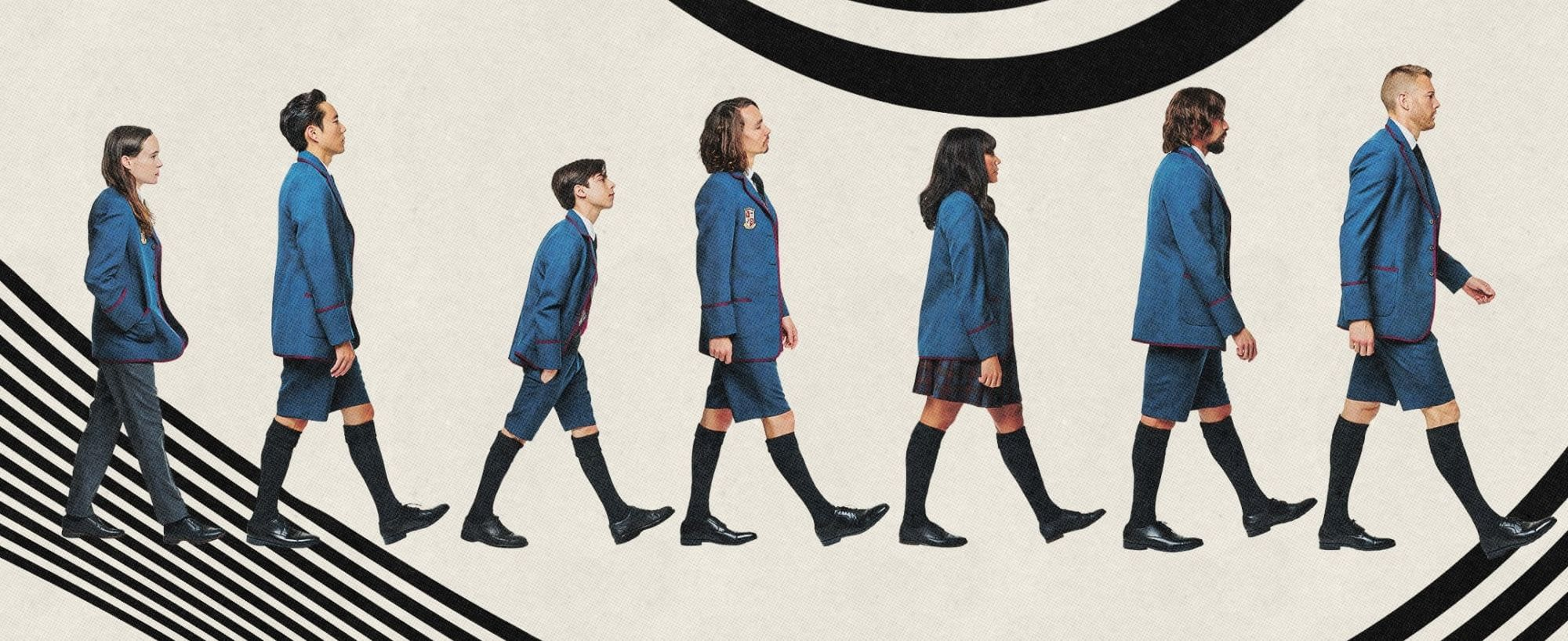 The countdown to The Umbrella Academy season 2 continues (Image: Netflix)