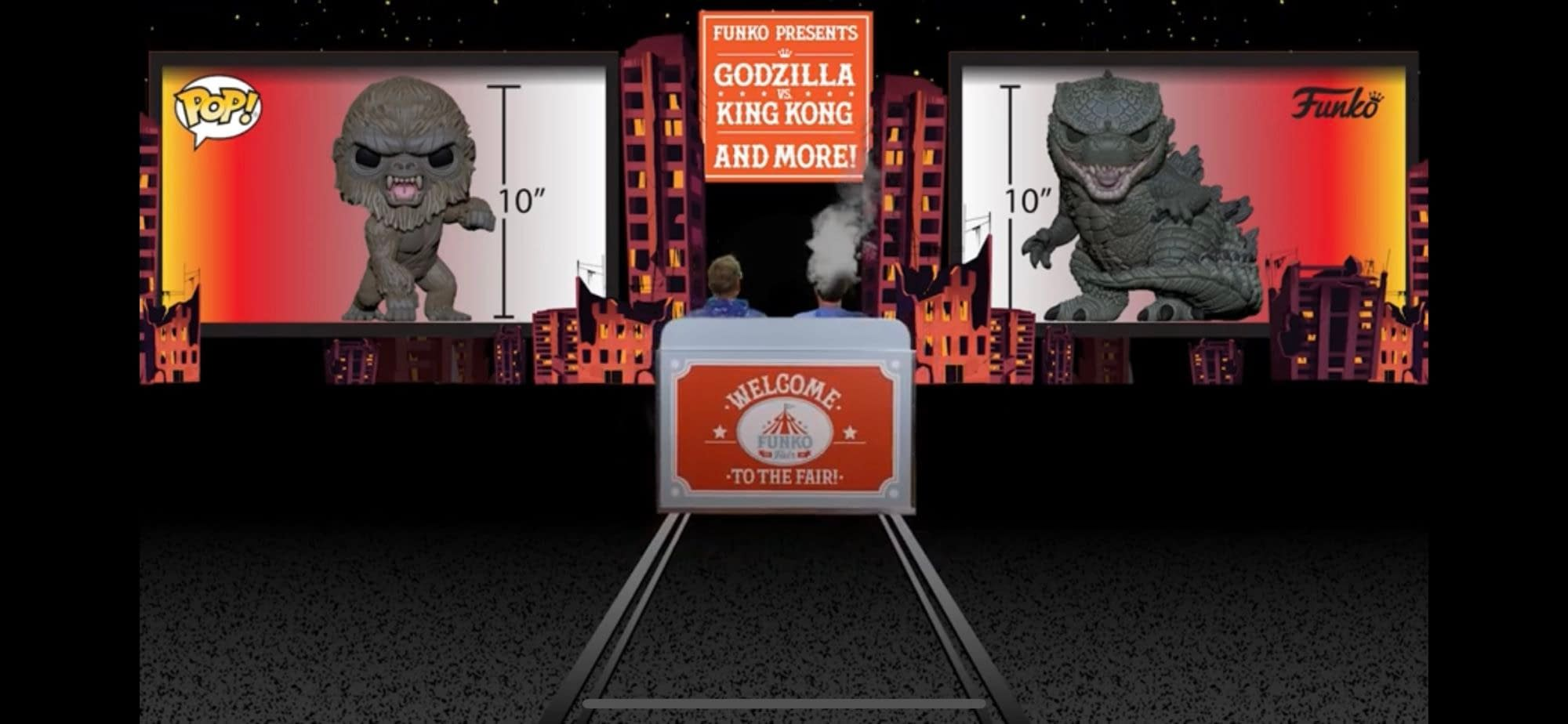 Godzilla Vs Kong Pop Vinyls Revealed By Funko During
