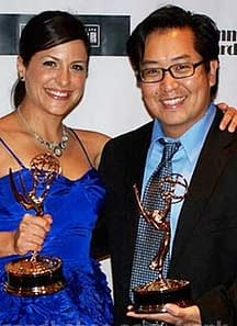 Frank Cho Wins An Emmy. And Doesn't He Look Pleased.