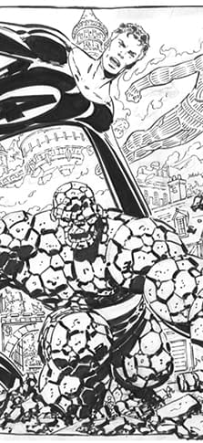 John Byrne Just Likes To Draw The Thing Too Much