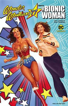 Wonder Woman '77 Meets The Bionic Woman Graphic Novel Review