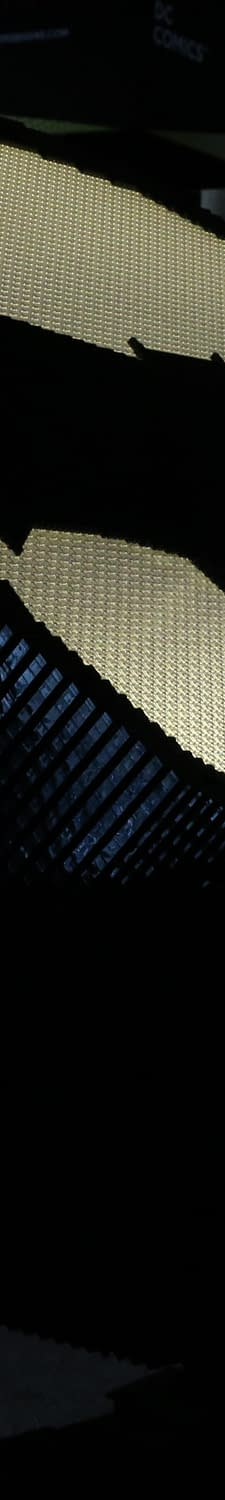 The Bat Signal Made Out Of Lego And More From DC Comics At Wondercon