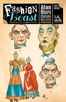 Antony Johnston Provides Insight Into Long-Lost Alan Moore Project, Fashion Beast