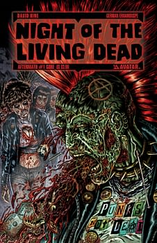 Punk Rock Zombies! David Hine Talks About Halloween's NIGHT OF THE LIVING DEAD: AFTERMATH